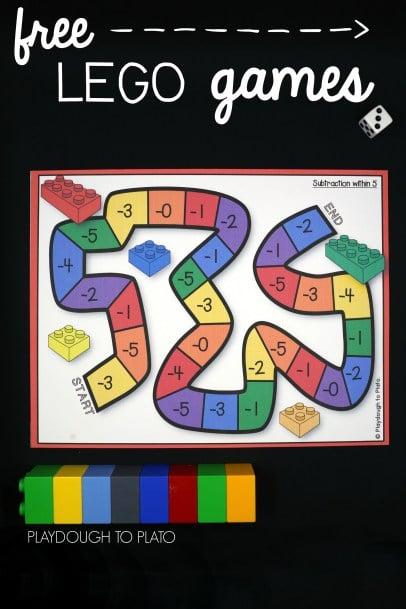 lego addition subtraction