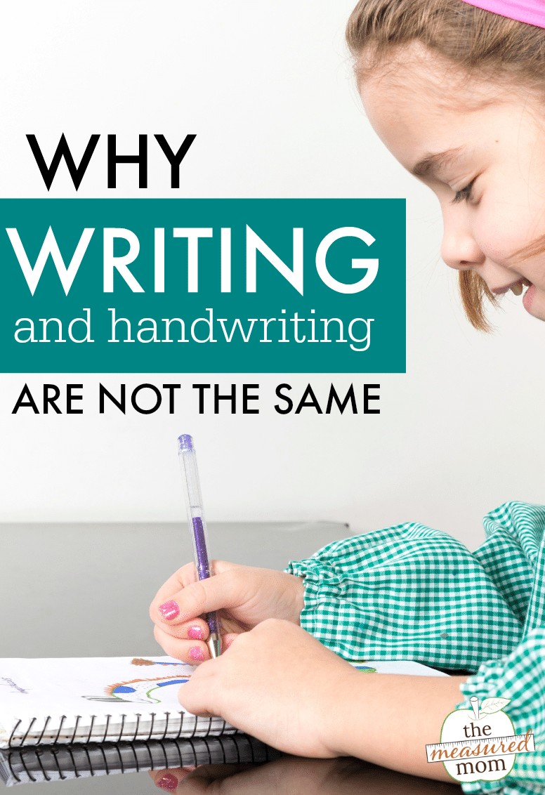How teaching writing is different than teaching handwriting - The ...