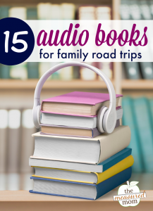 15 Audio books for family road trips
