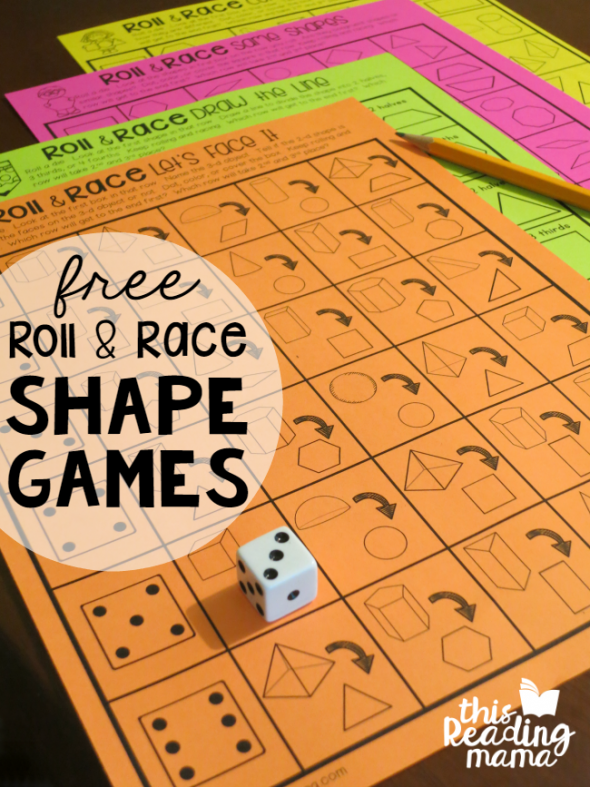 roll race shapes