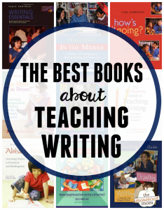 The best books about teaching writing