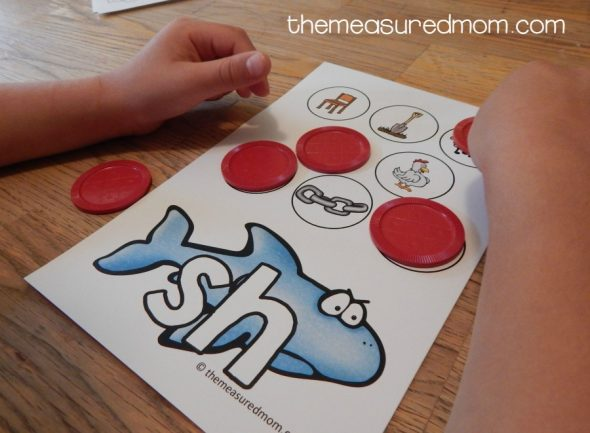 Free activity to teach the sounds of consonant digraphs - The