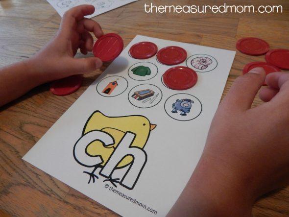 consonant digraph games 4