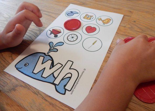 consonant digraph games 5