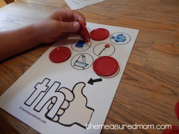 consonant digraph games 6