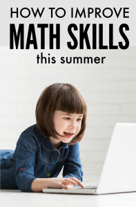 Yes, you CAN improve math skills over the summer!