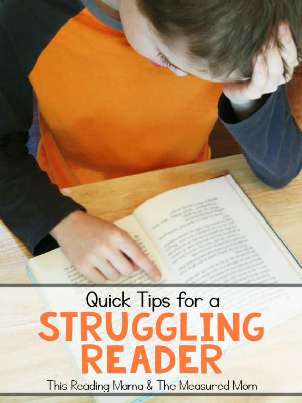 quick tips struggling reader