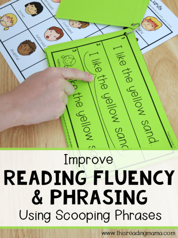 reading fluency scooping