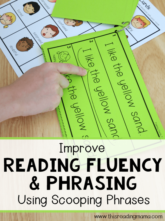 Teach Fluency With Scooping Phrases The Measured Mom