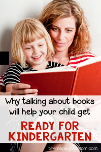 Prepare your child for kindergarten with interactive read alouds