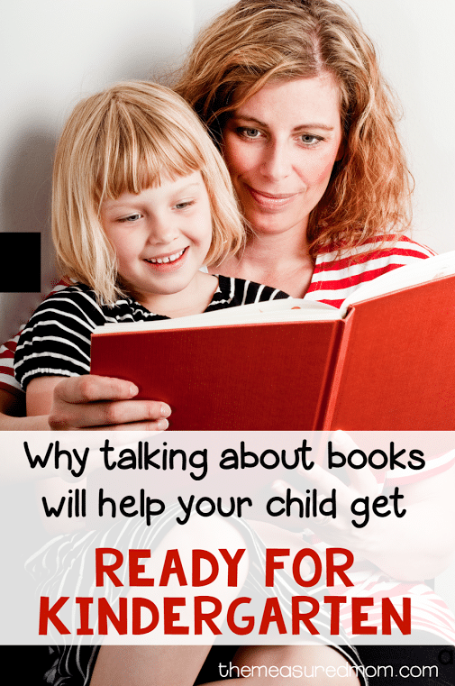 why talking about books will get your child ready for kindergarten