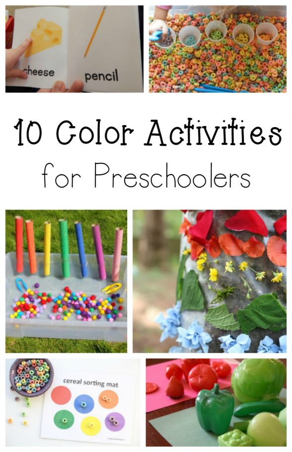 10 color activities for preschoolers