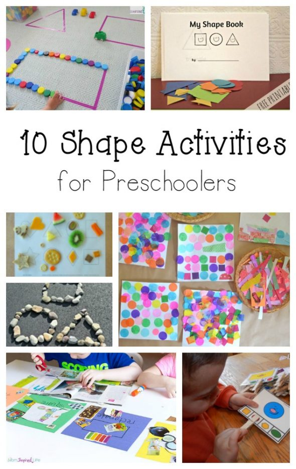 10 shape activities for preschoolers