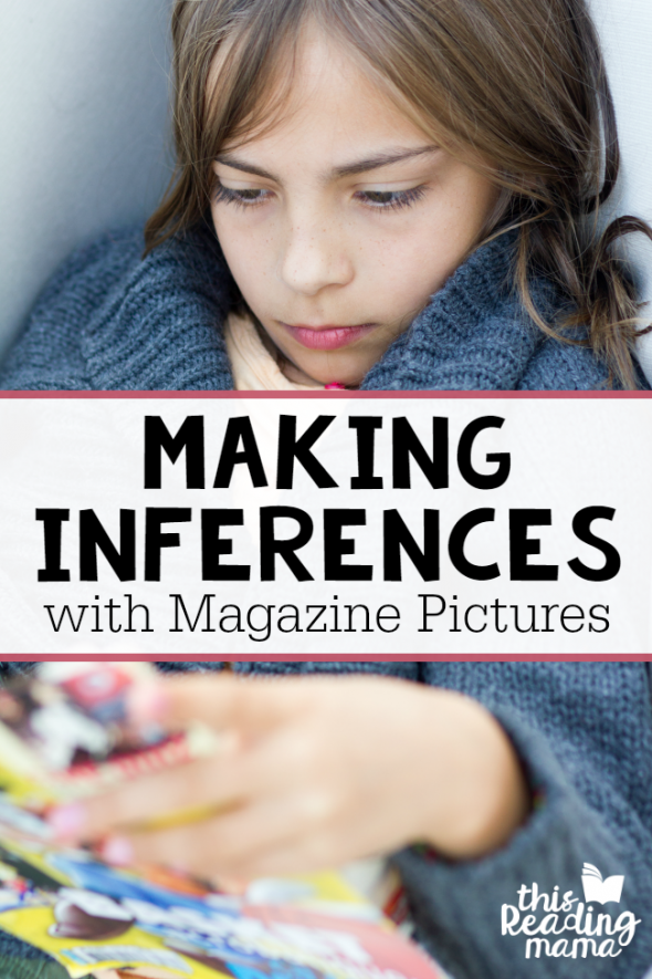 making inferences with magazine pictures