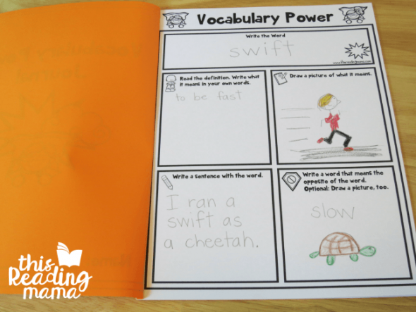 vocabulary power!
