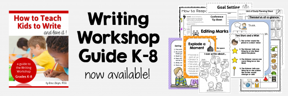 Writing Workshop Guide link to purchase