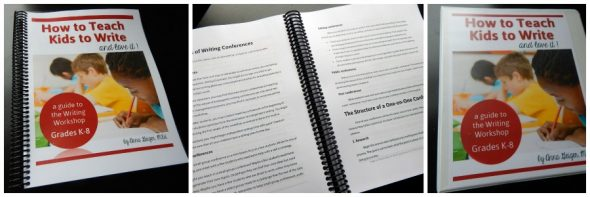 Writing Workshop guide K-8 printed copies