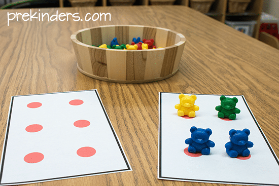 dot cards for counting