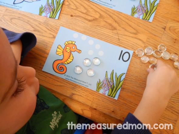fish bubble mats