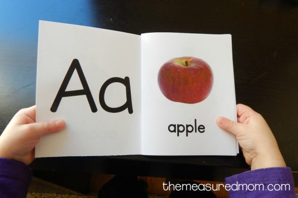 letter A activities for 2-year-olds 1