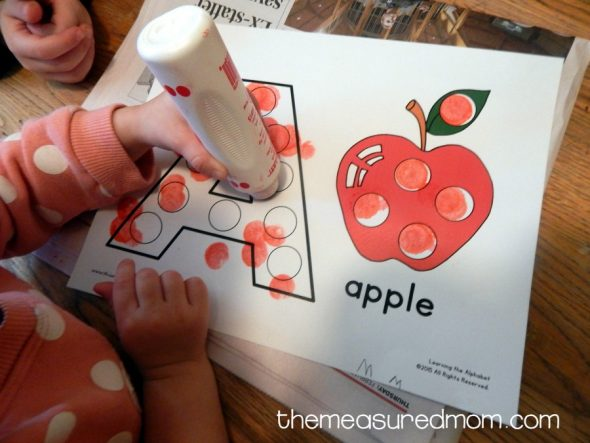 letter A activities for 2-year-olds 10