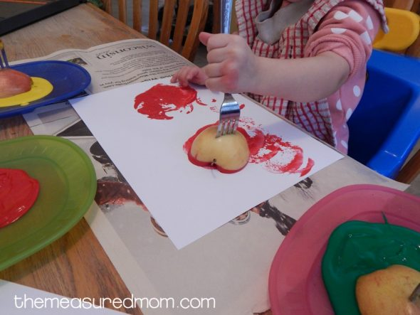 letter A activities for 2-year-olds 6