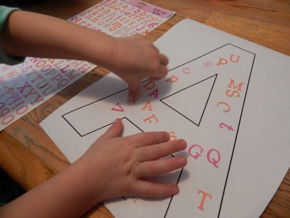 letter A activities for 2-year-olds 7