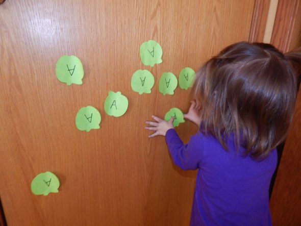 letter A activities for 2-year-olds 9