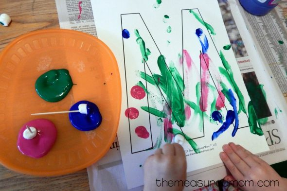 letter M activities for 2-year-olds 5