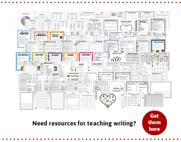 need resources for teaching writing workshop