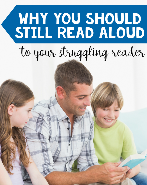 why you should still read aloud to your struggling reader