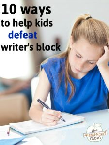 How to help your students defeat writer's block