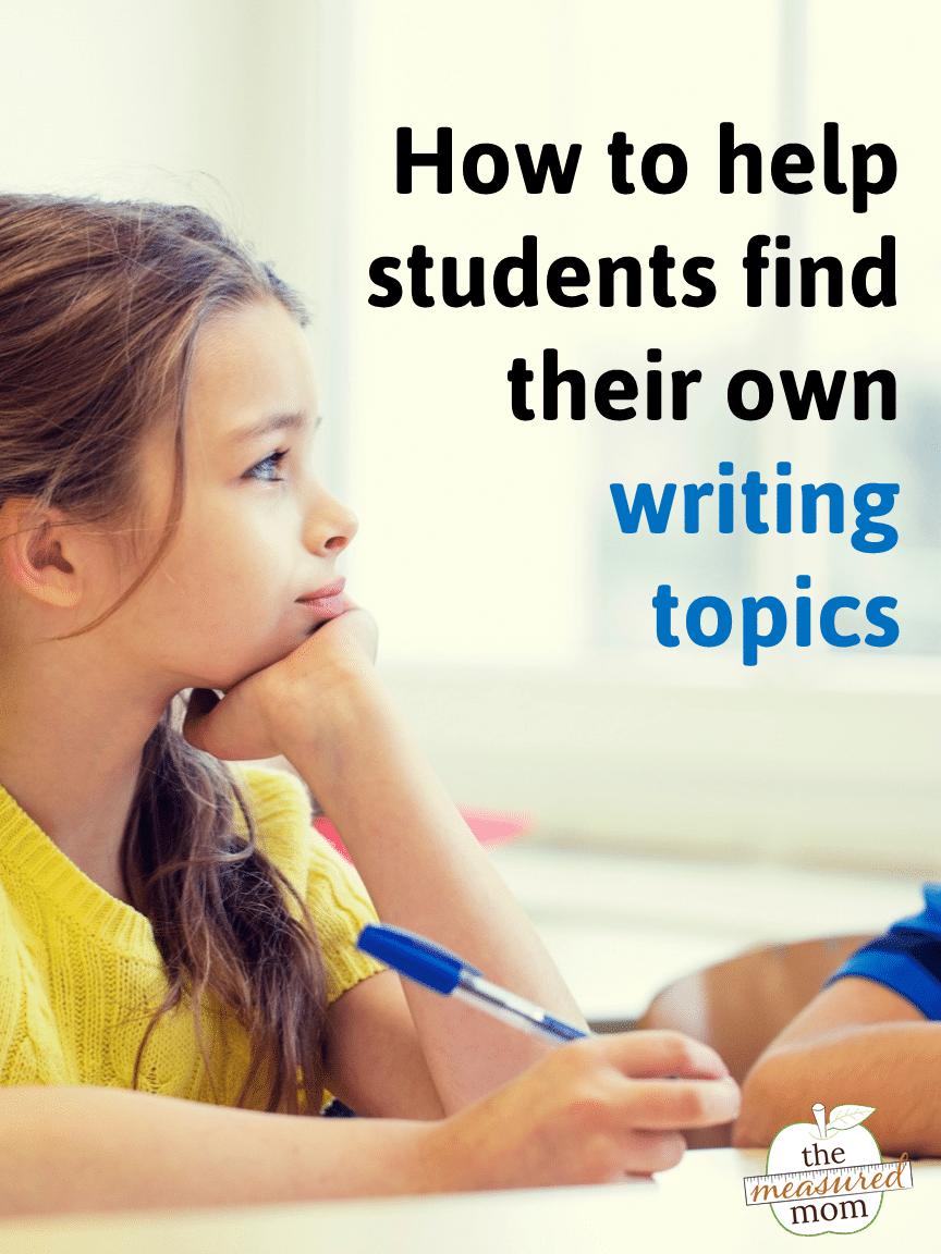 Search essay topics