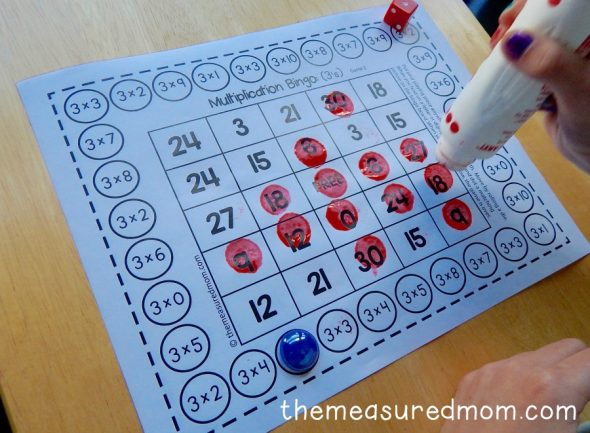 photograph relating to Multiplication Bingo Printable named Cost-free one-participant multiplication bingo online games - The Calculated Mother
