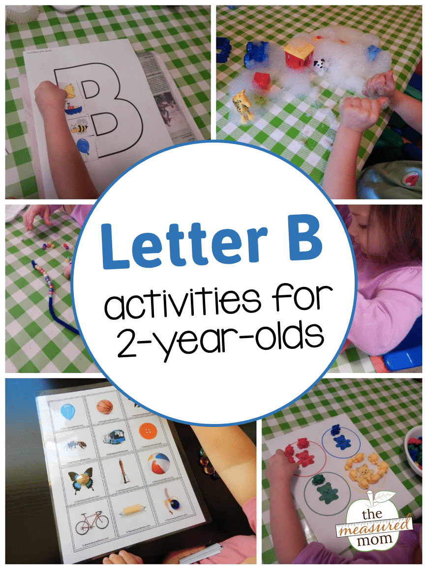 arts and crafts ideas for 2 year olds letter b activities for 2 year olds the measured 8175