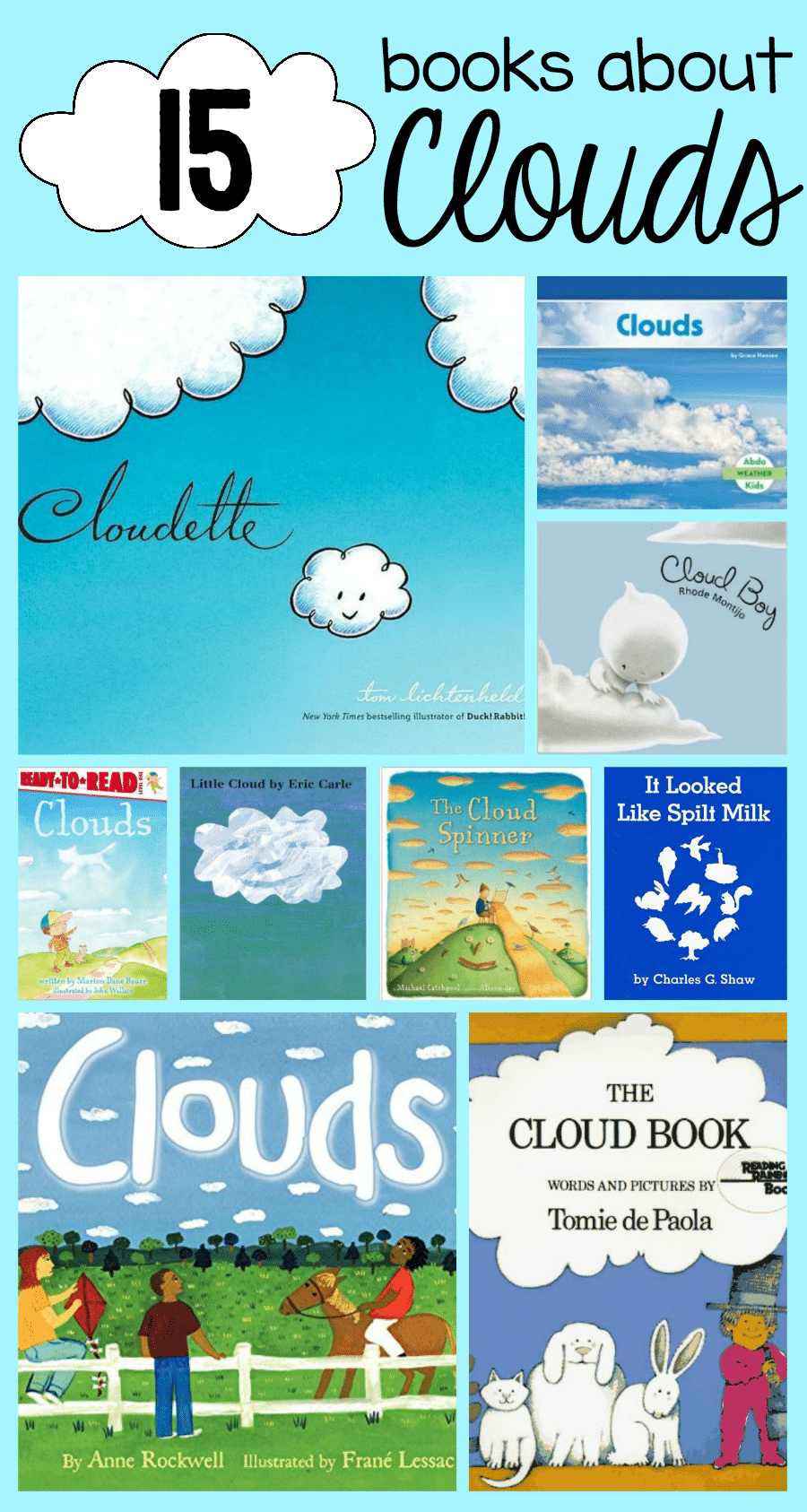 Books about clouds - The Measured Mom