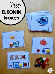 Free Elkonin Boxes