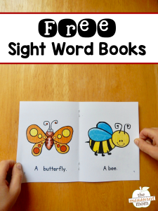 Free books help kids learn simple sight words