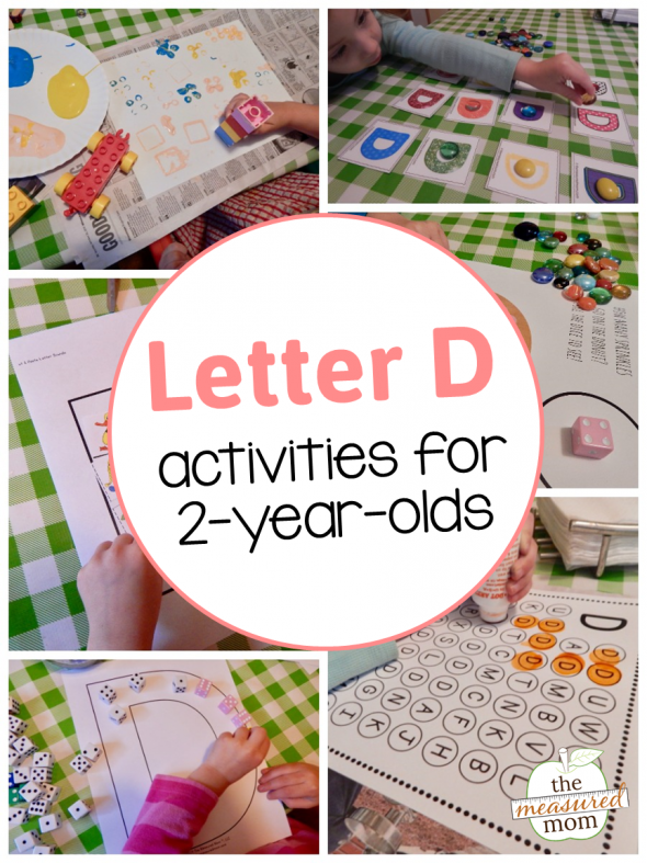 Letter D Activities For 2 Year Olds The Measured Mom