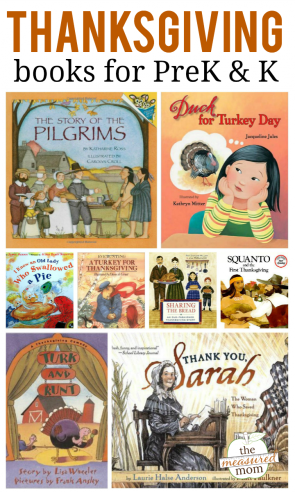If you're looking for Thanksgiving books for preschoolers and kindergartners, you'll love this list!