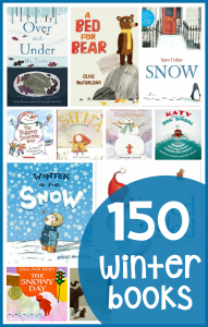 150 winter books for preschool and kindergarten