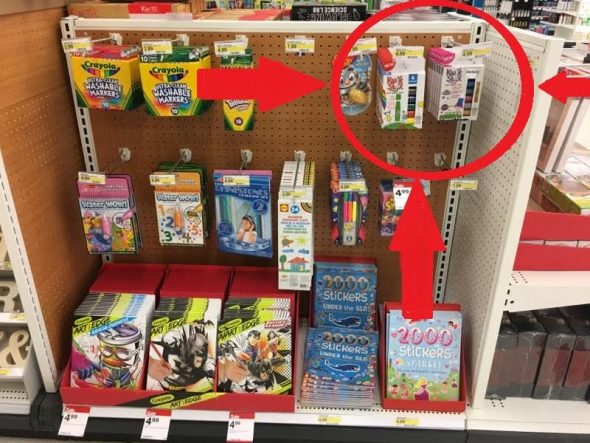 Shopping at Target? Find Kwix Stix next to the art supplies!