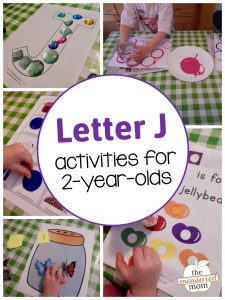 Letter J Activities for 2-year-olds