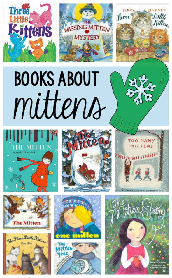 These books about mittens are wonderful to read during a winter theme for preschool or kindergarten!
