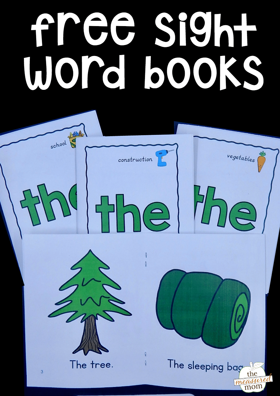 Magic image with regard to printable sight word book