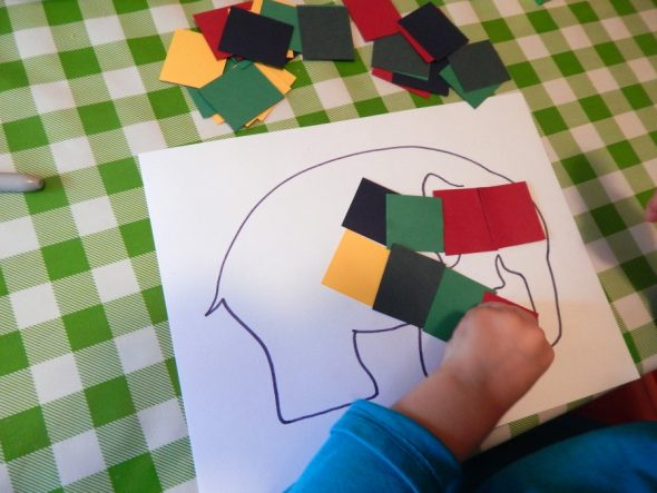 Try these fun letter E activities for 2 year olds!
