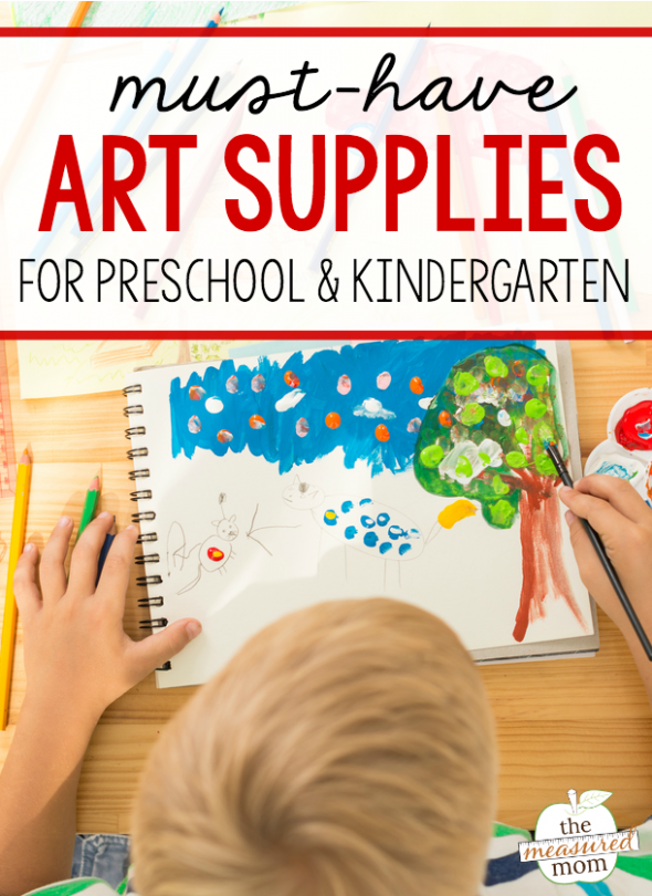 ae219f7f146 Want to get the best art materials for preschool or kindergarten  This is  the ultimate