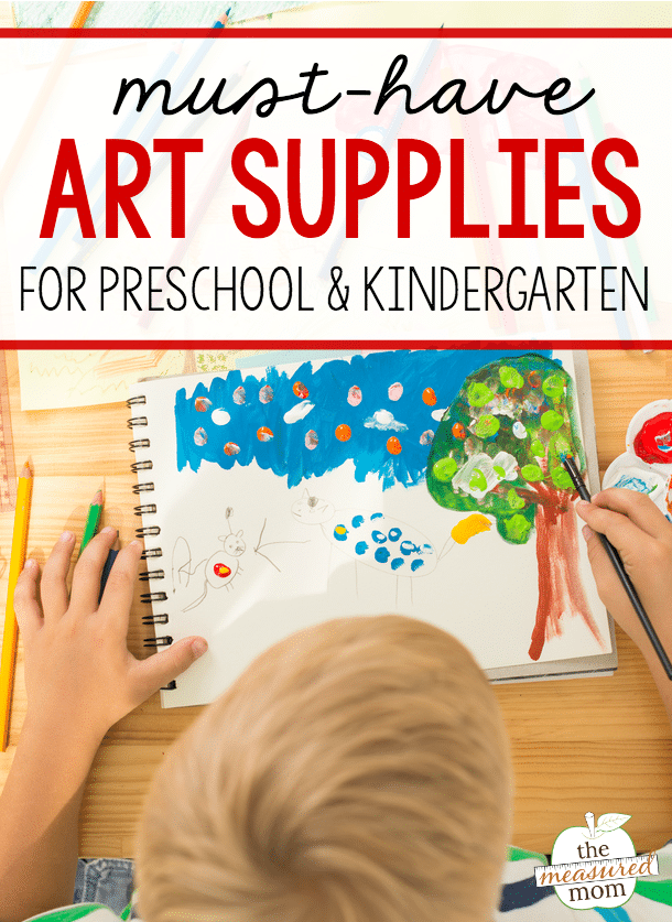 The ultimate list of must-have art materials for preschool