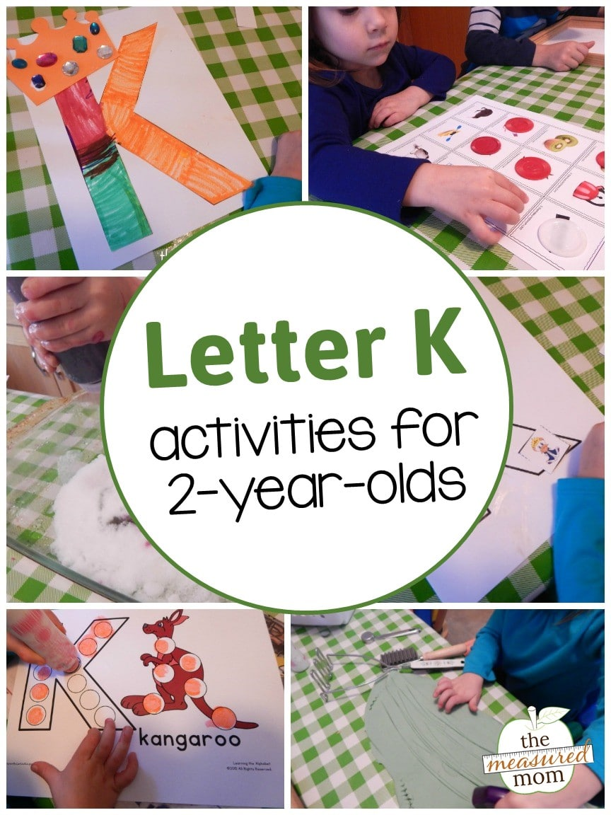 Letter K Activities For 2 Year Olds The Measured Mom