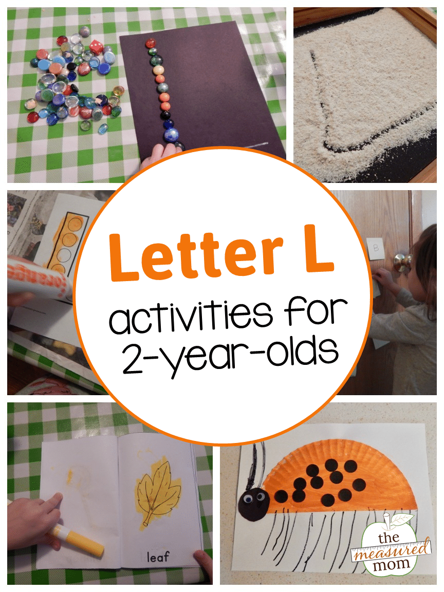 Letter L Activities For 2 Year Olds The Measured Mom
